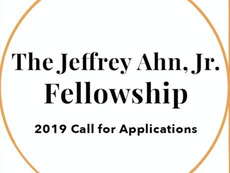 Jeffrey Ahn, Jr. Fellowship Poster
