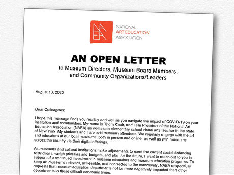 Open Letter to Museum Directors