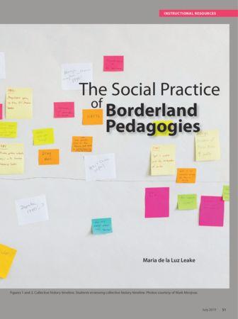 Art Education Journal_The Social Practice of Borderland Pedagogies