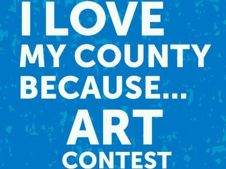 I love My County Because Art Contest